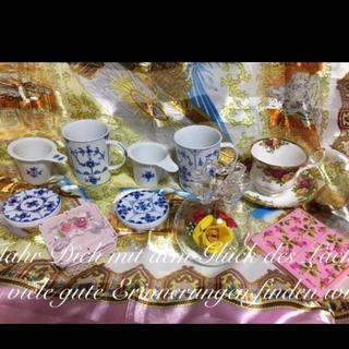 ロイヤルアルバート(ROYAL ALBERT)のレア ロイヤル アルバート カップ アーデン 茶こし付き マグ スワン 薔薇バラ(食器)