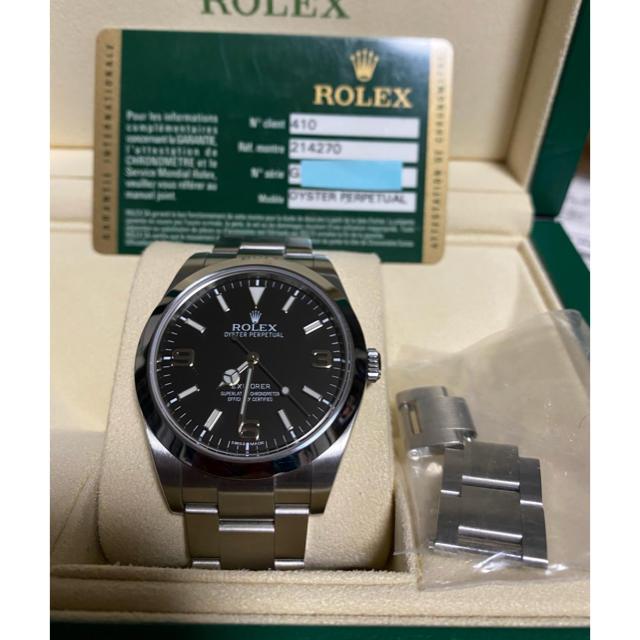 ROLEX - ロレックス エクスプローラー 214270 前期 美品の通販