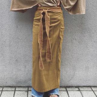 ファビアンルー(Fabiane Roux)のnowosラップスカート(ロングスカート)