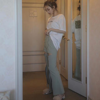 バブルス(Bubbles)のmelt the lady cutout slacks pants(その他)