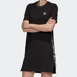 adidas - Tシャツドレス [Tee Dress] アディダスオリジナルス OT  XL 黒