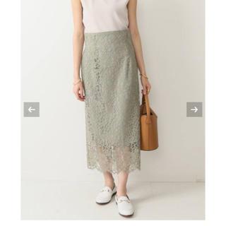 Noble - リバーレースIラインスカート