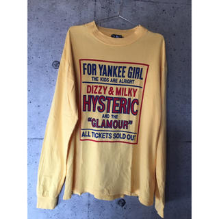 HYSTERIC GLAMOUR - ヒステリックグラマーロンT