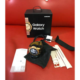 SAMSUNG - Galaxywatch ローズゴールド 42mm 付属品あり