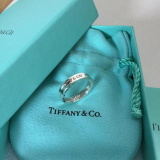 Tiffany & Co. - お値下げ♡美品 ティファニー 1837 創業年記念 刻印 ナロー リング 11号