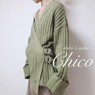 who's who Chico - 新作🌷¥7592【Chico】カシュクールカーディガン
