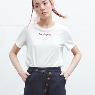 STUDIOUS - 日本製! NOISE MAKER 刺繍ロゴ Tシャツ