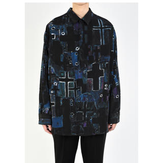 LAD MUSICIAN - BACK-FRONT SHIRT  クーポン使用で定価以下!