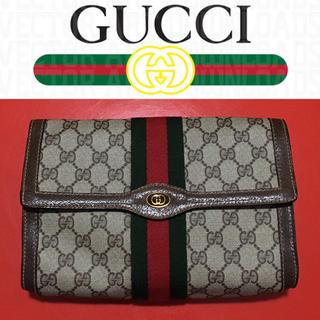 Gucci - GUCCI クラッチバッグ オールドグッチ OLD ヴィンテージ セカンドバッグ