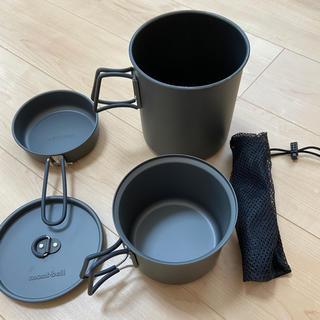 モンベル(mont bell)のアルパインクッカー(調理器具)