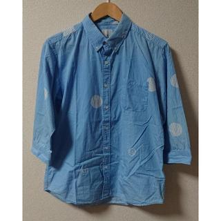 ユニフォームエクスペリメント(uniform experiment)のuniform experiment 七分丈 シャツ 3 水玉 BIG DOT(シャツ)