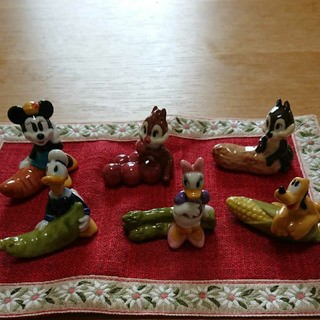 Disney - ディズニーキャラクター箸置き6個組