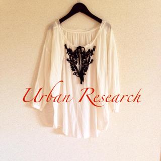 アーバンリサーチ(URBAN RESEARCH)のアーバンリサーチ インド綿 刺繍シャツ(シャツ/ブラウス(長袖/七分))