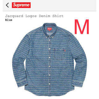 Supreme - Supreme  Jacquard Logos Denim Shirt