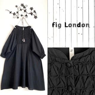 fig London - fig London*ボリューム袖ワンピース*SM2アトリエドゥサボンyuni好