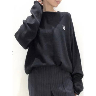L'Appartement DEUXIEME CLASSE - used☆ 【BILLY/ビリー】B SWEATER ブラック