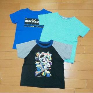 GU - 【120】保育園や小学校のお着替え等に!Tシャツ★3枚セット★男の子