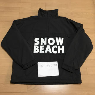 ポロラルフローレン(POLO RALPH LAUREN)のS 黒 SNOW BEACH Pullover Half Zip Jacket(ナイロンジャケット)
