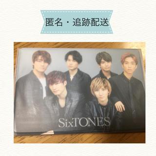 SixTONES 会員証ケース FC入会早期特典