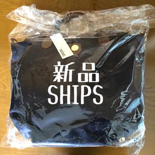 SHIPS - 【新品】SHIPS bonfanti 2WAY ナイロントート ネイビー