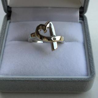 Tiffany & Co. - お値下げ♡ティファニー ダイヤモンド ラビングハート リング 指輪 9号