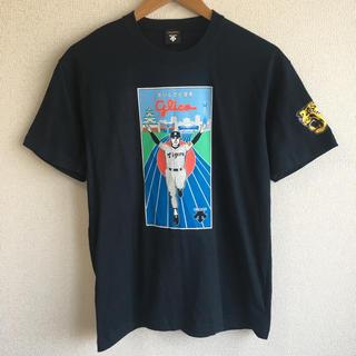 ハンシンタイガース(阪神タイガース)のDESCENTE デサント 阪神タイガース 2003年 優勝 Tシャツ(記念品/関連グッズ)