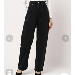 moussy - HW COLOR LOOSE STRAIGHT