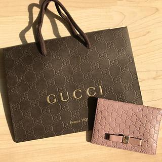Gucci - 【紙袋付】GUCCI パスケース【未使用】【正規品】