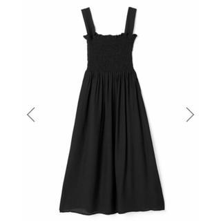 GRL - GRL シャーリング楊柳ワンピース ブラック 黒 新作 春 夏 韓国ファッション