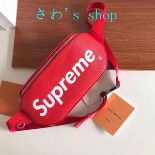 Supreme - 赤色 Supreme シュプリーム ウエストポーチ