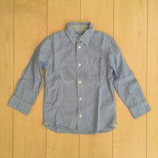 エイチアンドエム(H&M)の[110] H&M ギンガムチェックシャツ(ブラウス)
