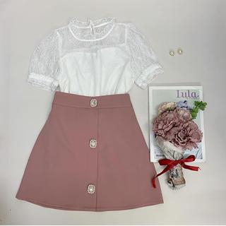 evelyn - アンミール 台形スカート ピンク