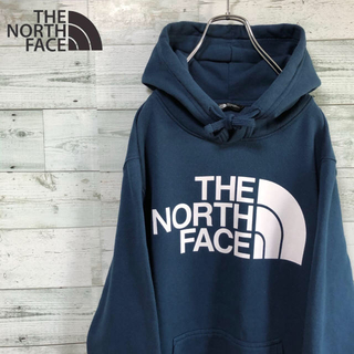 THE NORTH FACE - THE NORTH FACE ☆デカロゴ スウェット パーカー フーディ