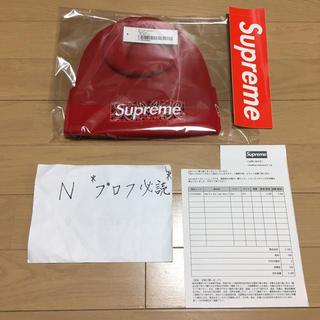 シュプリーム(Supreme)のSupreme New Era Box Logo Bandana Beanie(ニット帽/ビーニー)