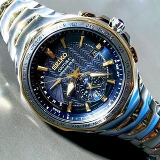 セイコー(SEIKO)の【展示品】定価7万! セイコー 上級コーチュラ 電波 ソーラー SSG020(腕時計(デジタル))