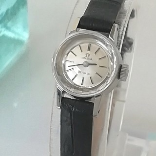 OMEGA - ⭐OH済 綺麗 オメガ 尾錠 新品レザー レディースウォッチ 時計 入学式 美品