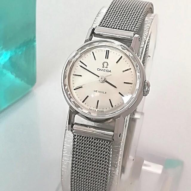 ロレックス スーパー コピー 時計 N - OMEGA - ⭐OH済 綺麗 オメガ 純正ベルト 希少 3針 レディースウォッチ 時計 極美品の通販