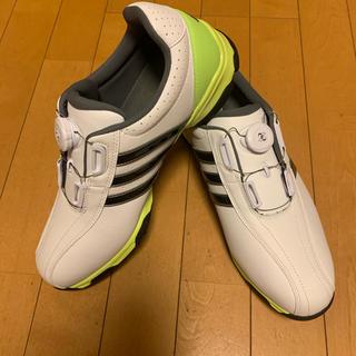 adidas - 大幅値下げ セール ゴルフシューズ メンズ アディダス 新品未使用 27.5cm
