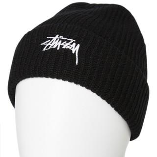 STUSSY - ☆新品☆ STUSSY ニット帽 stussy ビーニー ブラック 黒