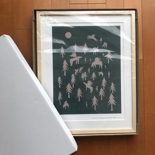 mina perhonen - 希少・新品!ミナペルホネン アートポスター グリーン A3サイズ