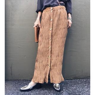 Ameri VINTAGE - 大人気!【AMERI Vintage】19SS クリンクルナロースカート
