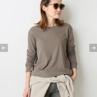 DEUXIEME CLASSE - 新品未使用 spring-like Tシャツ ブラウン ドゥーズィエムクラス
