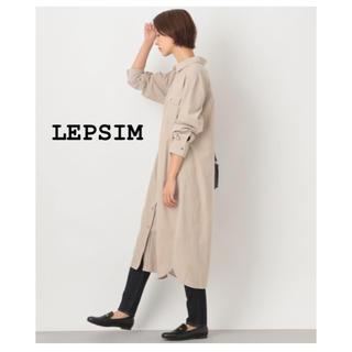 LEPSIM - LEPSIM  シャツワンピース