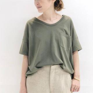 DEUXIEME CLASSE - Deuxieme Classe SKARGORN ポケツキワイドTシャツ カーキ
