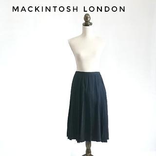 マッキントッシュ(MACKINTOSH)のMACKINTOSH LONDON プリーツスカート マッキントッシュ(ひざ丈スカート)