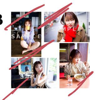 指原莉乃 club345 2020年カレンダーアザーカット生写真4枚セットB