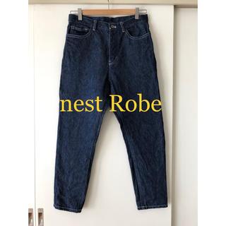 nest Robe - 【nest Robe】NY別注 リネンデニム5ポケットパンツ