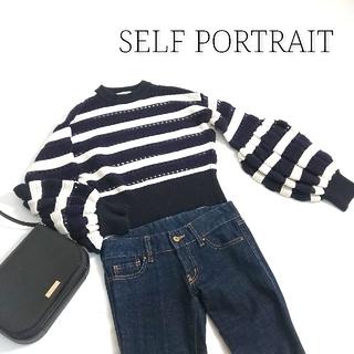 セルフポートレイト(SELF PORTRAIT)のself portrait セルフポートレイト セーター レディース(ニット/セーター)