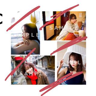 指原莉乃 club345 2020年カレンダーアザーカット生写真4枚セットC