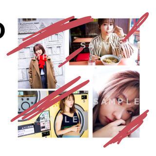 指原莉乃 club345 2020年カレンダーアザーカット生写真4枚セットD